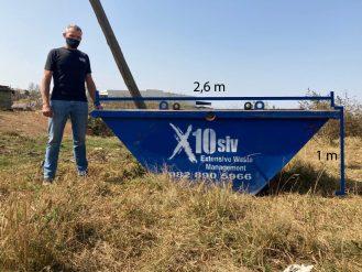 Mini skip size in Pietermaritzburg